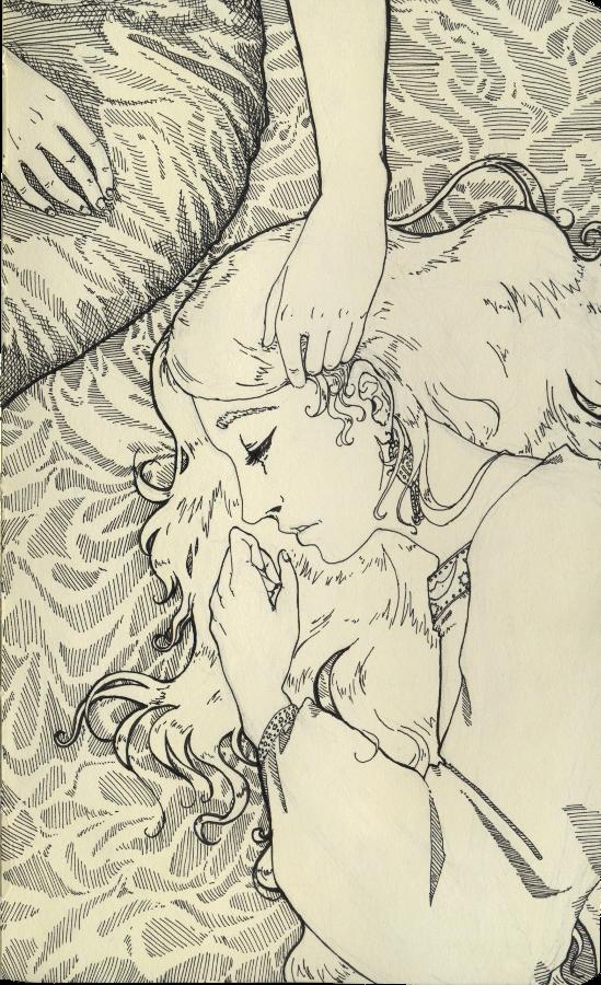 Sleep well, dear sister Elizabeth by Yumemi-chan