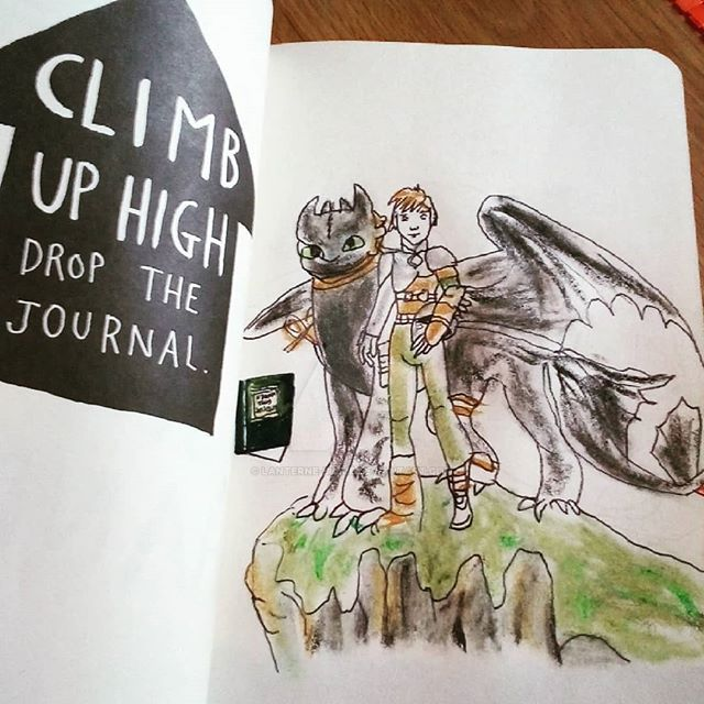 Wreck this journal how to train your dragon by lanterne bleue on wreck this journal how to train your dragon by lanterne bleue ccuart Image collections
