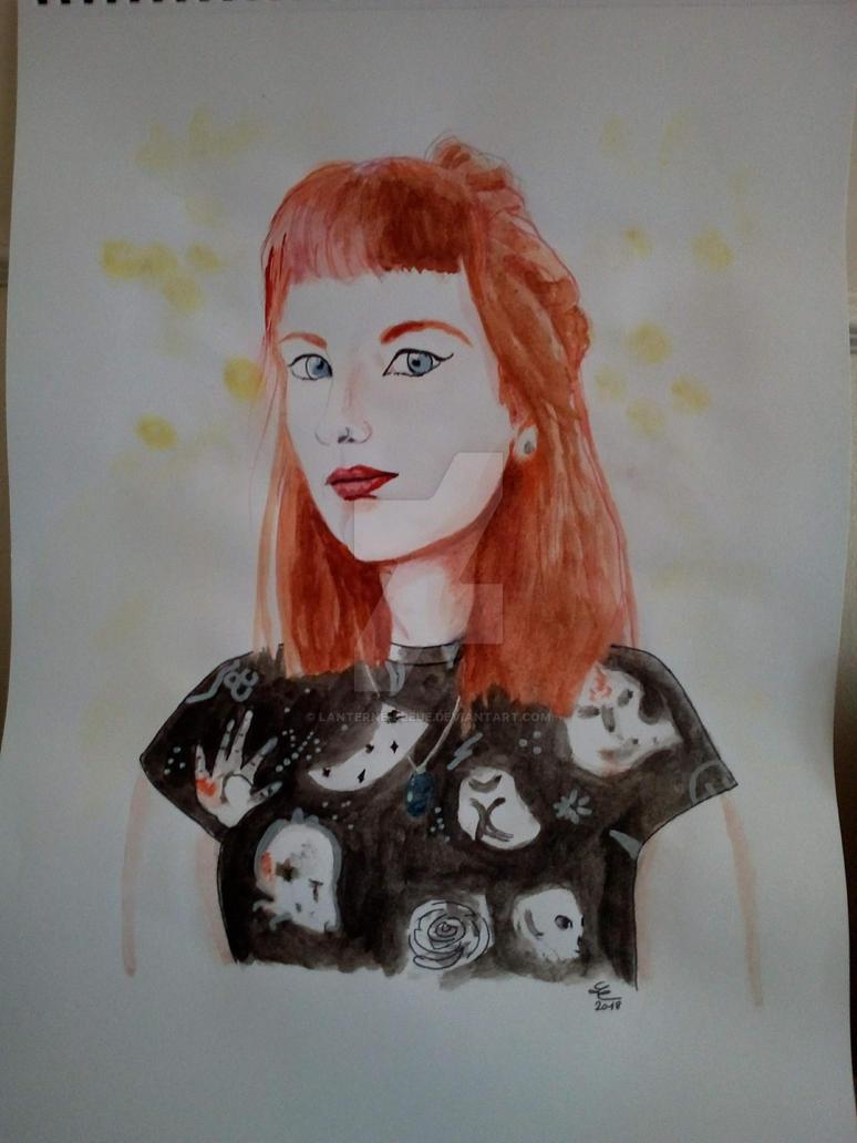 Fan art : Daphnee by Lanterne-Bleue