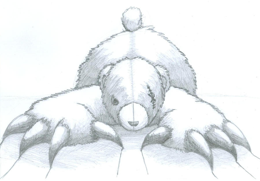 Killer Teddy Bear by Airon721 on DeviantArt