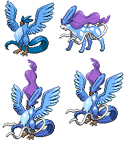 Suicune, Articuno Fusion by sgtdanman08