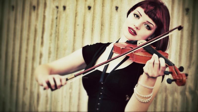 Fiddler by Hannah-Mariah