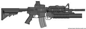 M4A1 Grenadier SOPMOD