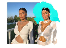 Kylie Jenner by bsyana