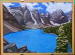 Moraine Lake at Banff National Park