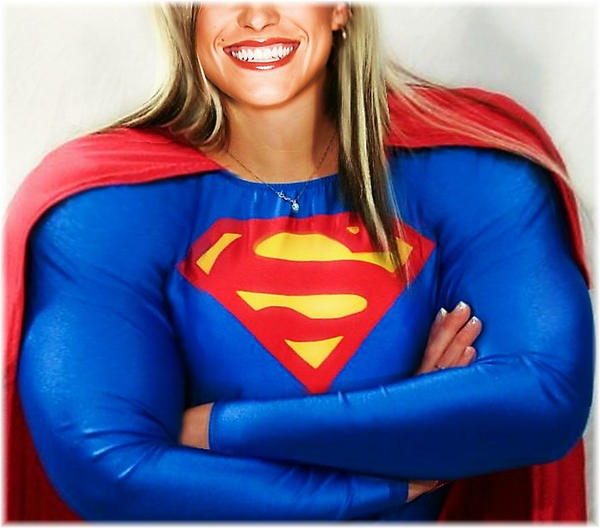 SuperWoman Smile by SuperGirlStrength