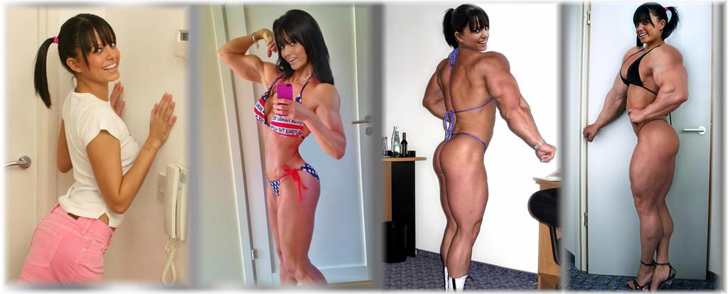 Progress pics 2 by SuperGirlStrength