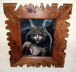 broken glass framed by imagist