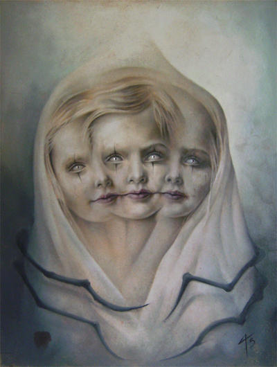 Triographic oil by imagist