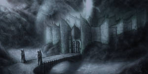 Morning in Minas Morgul - sketch by malter23