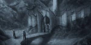 Minas Morgul by malter23
