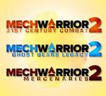 MechWarrior 2 Reffited Logo Concepts by MKFan12