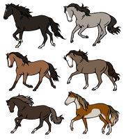 10 Point Blue Eyed Horse Adopts ~ 1/6 ~ OPEN by Skribbley