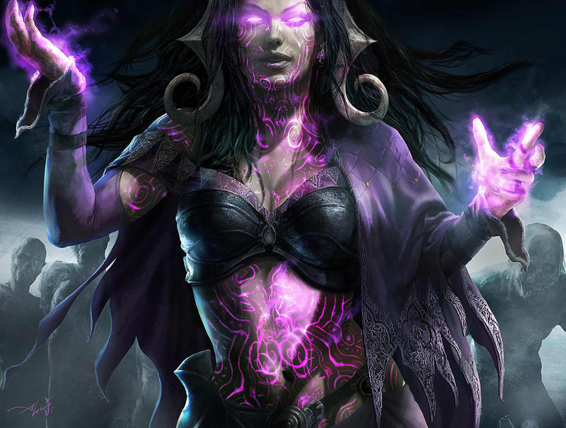 Liliana's Origin: The Fourth Pact Liliana Vess by Aleksi--Briclot