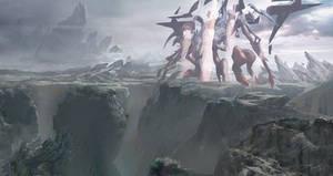 Concept art for Battle for Zendikar by Aleksi--Briclot