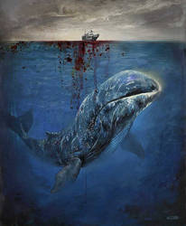 Bowhead Whale / Endagered Species book project by Aleksi--Briclot