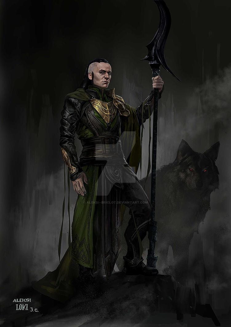 Loki for Thor : Ragnarok by Aleksi--Briclot