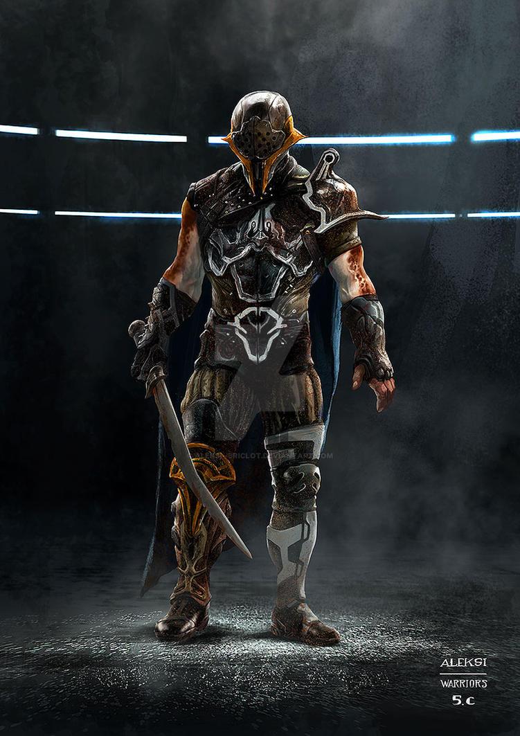 Thor Ragnarok : Gladiator by Aleksi--Briclot