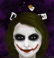 A Joker's mind by PrincessNami