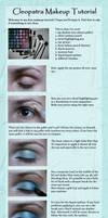 Cleopatra Makeup Tutorial by PrincessNami