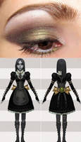 Alice Steamdress Eye Makeup by PrincessNami