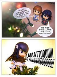 Ryuko's Christmas Tree Star by frasbob