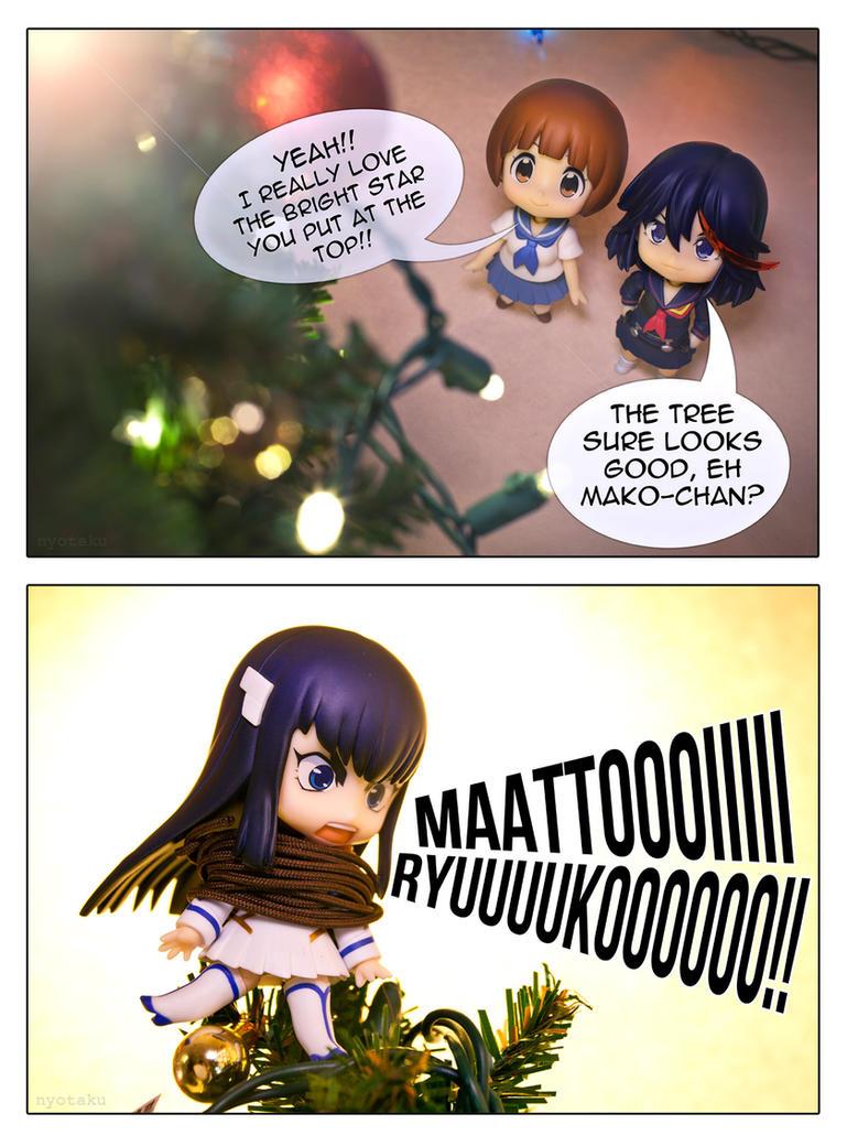Ryuko's Christmas Tree Star by frasbob on DeviantArt
