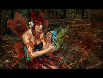 Dragon Fairy by AddyRedragon