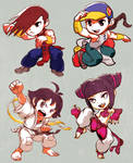Street Fighter Yun Yang Makoto Juri