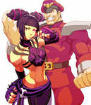 Juri and Bison