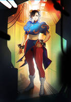 Street Fighter Chun-LI by oetaro