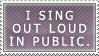 sing by plztikphishphood