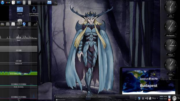 My Mageia Desktop 2014 11