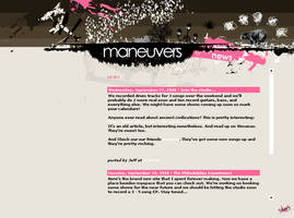 Maneuvers Website by theblackboxlies