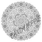 Flowers of Summer Mandala