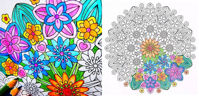 flower epiphany springtime flower coloring page by candy hippie dc6y1ze 350t