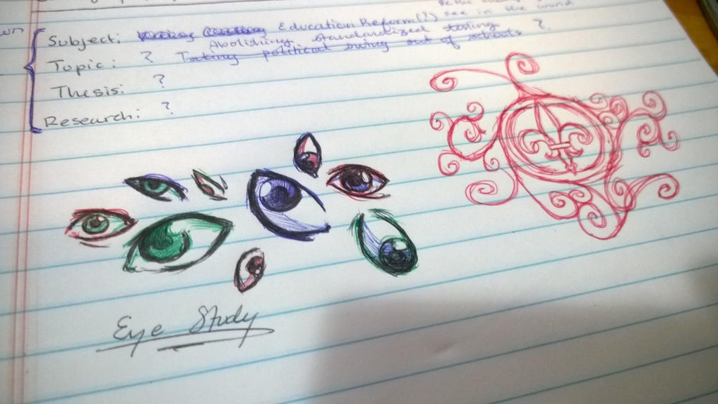 Speech doodles by Shikigami-chan