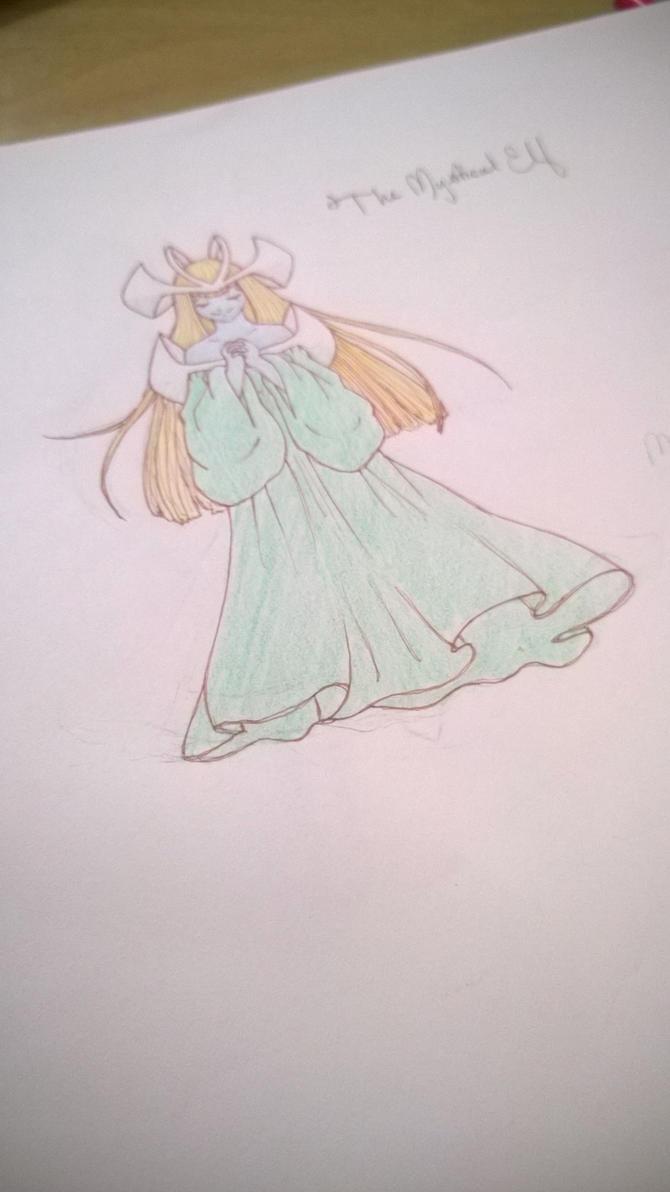 Mystical Elf by Shikigami-chan
