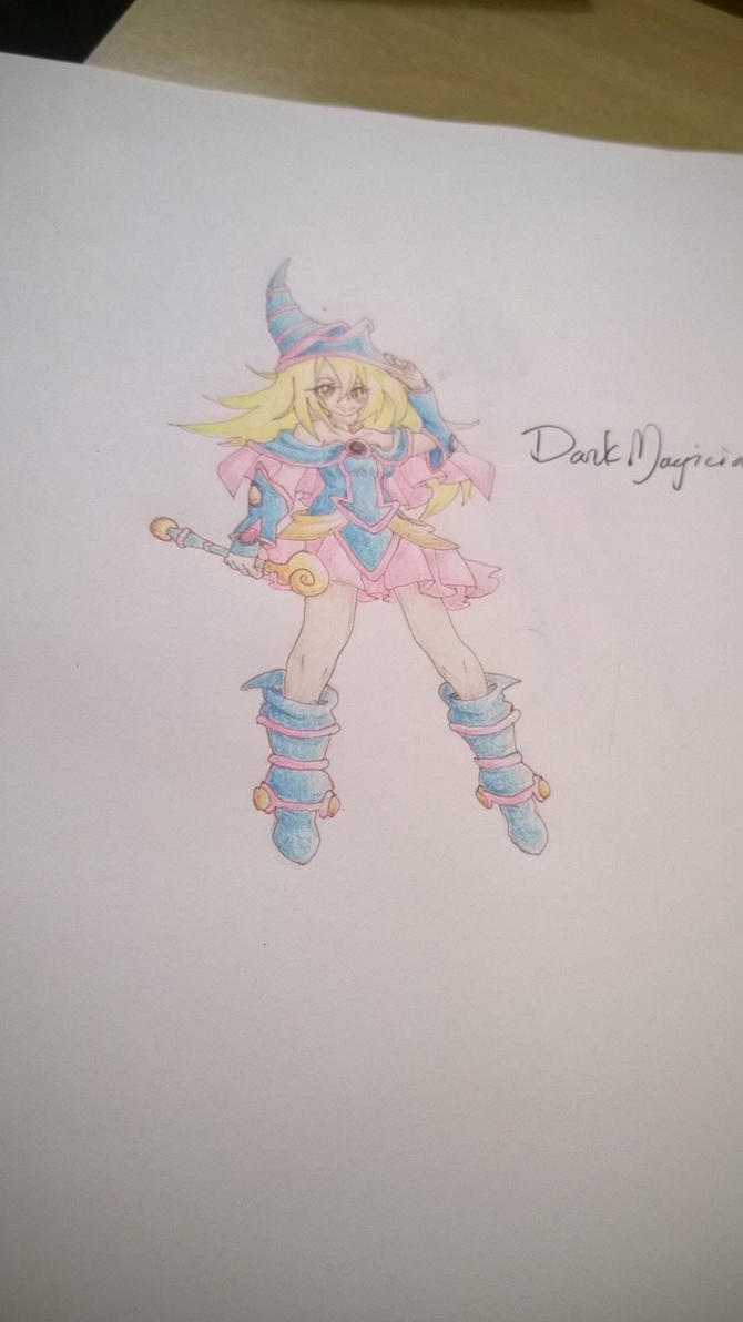 Dark Magician Girl by Shikigami-chan