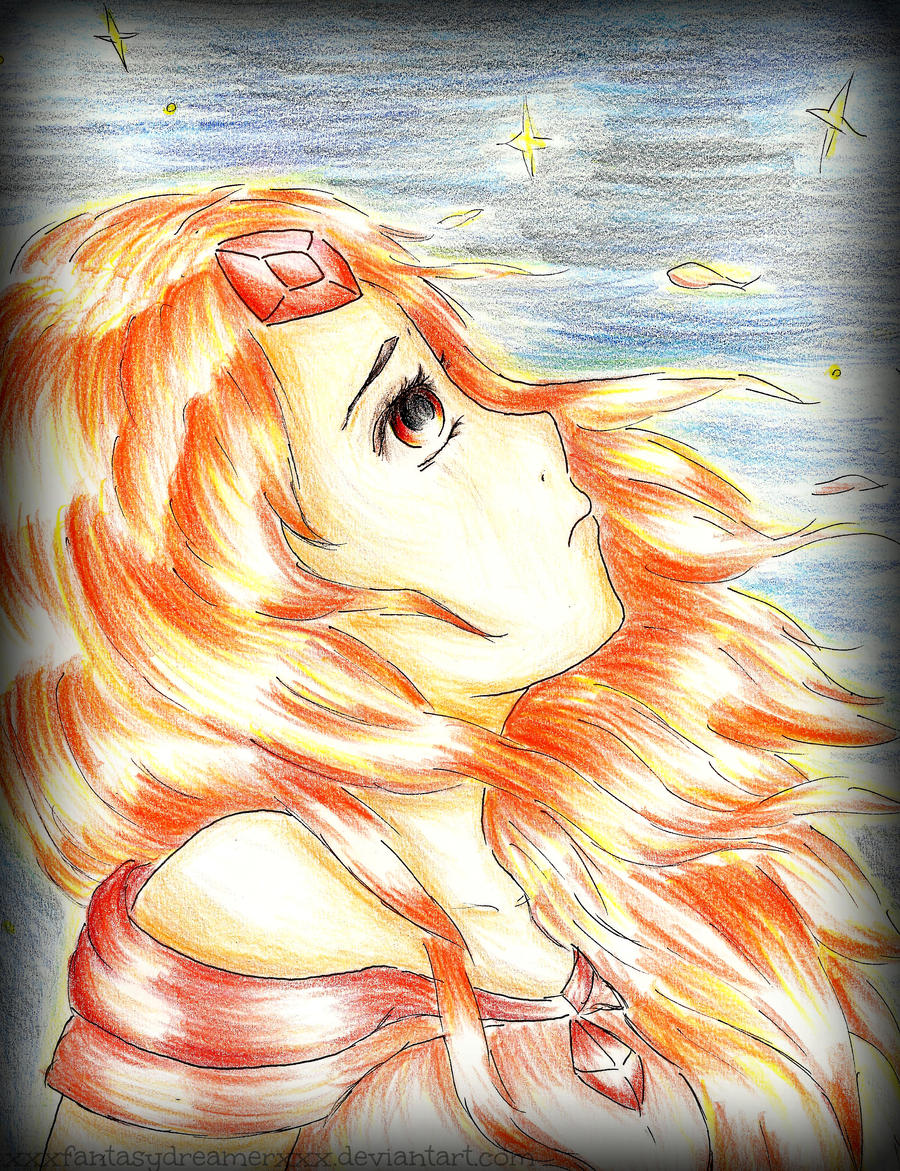 Flame Princess by XxFantasyDreamerxX