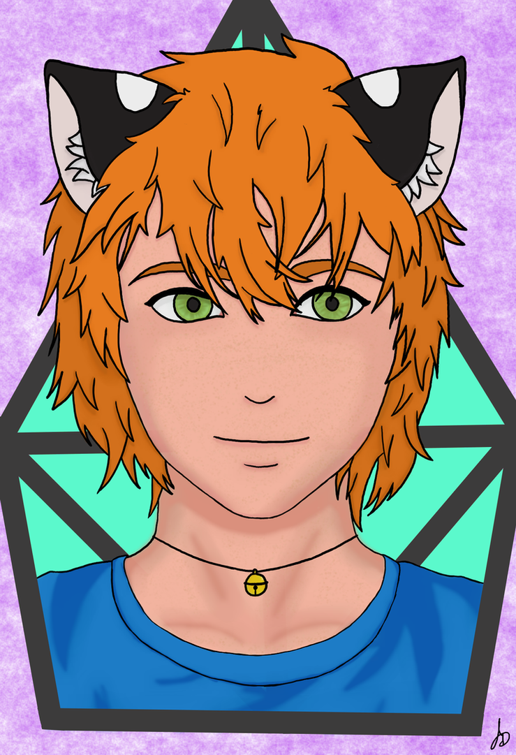 Oliver (OC) by The-White-Tigress
