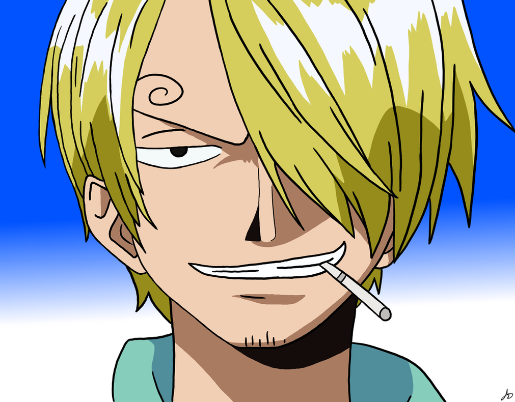 Sanji (One Piece) by The-White-Tigress