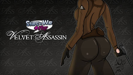 Snipe and Wib Play Velvet Assassin Title Card by SnipeTheSorrow