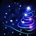 Abstract Christmas Tree by rayjpop