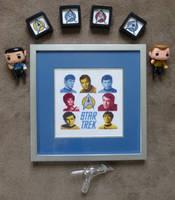 TOS Star Trek Cross Stitch