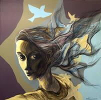 Yellow Birds by Ralu77