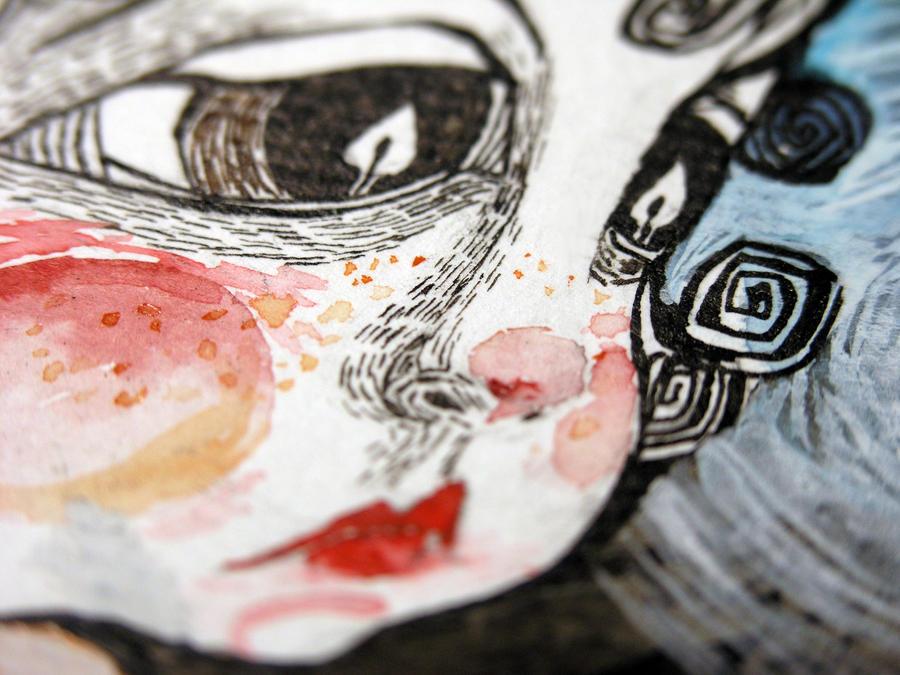 ilustratie Fetita cu chibrituri (detaliu) by Ralu77