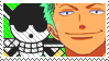 Zoro Stamp by Simi-sami
