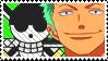 Zoro Stamp by Simi-sami