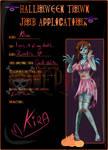 Halloween Town OP AU! Zombie Kira ~